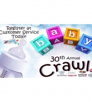Register your Baby TODAY at Customer Service!