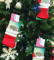 #stocking are hung and ready for our
