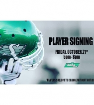 Hello #ridernation! Join us Friday, Oct 21st for a player signing at The Rider Store!