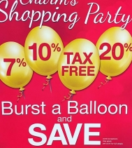 Burst a Balloon & Save! Check out @charmdiamonds Shopping Party starting Thursday - Sunday! 🎈🎈