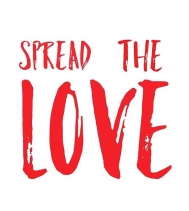 #spreadthelove today❣️
