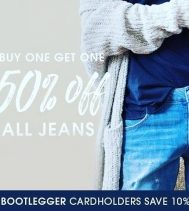 @northgate_bootiecrew 💙's #denim! Shop their BOGO Sale Today!