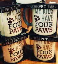 Who doesn't love pets?? These is a great gift idea for the #petlover in your life! 🐶🐱🐭🐰#greatfinds at Colony Coffee & Tea!