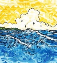 March is OluKai month at Flip Flop Shops! Receive this print with any OluKai purchase ~limited quantities~