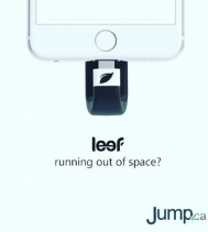 Running out of room on your phone but not ready for an upgrade? Introducing the Leef Lightning MicroSD Card Reader 🍃⚡️Visit @jump.ca for all the details...