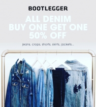 We 💙Denim! 👖👖👖👖👖Check @bootleggerjeans out for their BOGO Sale! Plus you receive an additional 50% Off Sale Items ~excludes jeans~ @northgate_bootiecrew #denim #shop #hotdeals 🔥 #spring 🌸