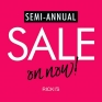 Semi Annual Sale On Now @rickisfashion #yqr #sale #shop🛍 Sale on until Jul.29th!