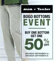 #BOGO Bottoms Event at Alia n Tanjay