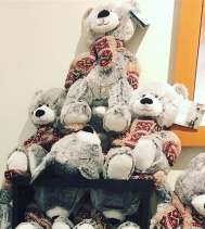 Don't forget to check out these cute Christmas Bears for purchase or donation at Peoples until Dec.24th! They make a perfect gift or a great way to give back to the Children's Hospital Foundation!