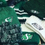 How are you going to stay warm at the Rider game tonight?! 🌒Check out these warm n' fuzzy toques at The Rider Store!! Go Riders Go!!! #riders #football #yqr 🏈💚🏈💚