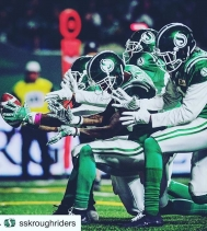 #Repost •••It's Friday Night Lights 🏈Let's Go Riders! 🙌🏽#yqr #gameday #fridaynight