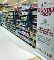 It's Bundle of Joy at Northgate Mall! YOU can help us with a donation of unopened boxes of diapers, wipes and formula at our collection center by Customer Service! All donation help precious babies in need 🍼! Northgate Mall Safeway will also give an AD