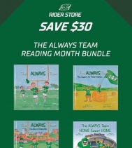 "The Always Team Reading Month Bundle at The Rider Store 🏈📚 ""Always Team"" books are being sold as a bundle of 4 for $50.00!!! #learning #giftideas"