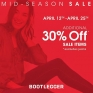 Time for a MID-SEASON SALE 🛍 •••>>>Receive an ADDITIONAL 30% OFF SALE ITEMS *excluding jeans @northgate_bootiecrew @northgate_bootiecrew Ends Apr.25!