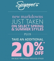 New Markdowns Just Taken! #Suzannes #SuzannesStyle #LoveSuzannes