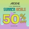 ☀️Summer Deals⛱  Up to 50% off at Northgate Mall Ardene.🍦☀️😎 Limited time only, in-stores. Some restrictions apply.  Ends June 26 #summer #deals @ardene