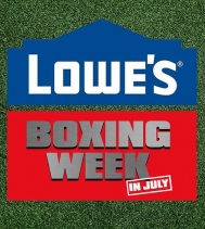 BOXING WEEK came early this year! 🎉🔨🔧 #boxingweek @lowes_canada