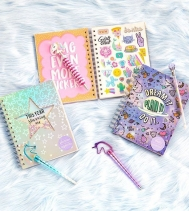 Get Organized for school with Claire's fun planners!🦄 🦄 Shop Claire's Northgate Mall Today!  #backtoschoolshopping #yqr #ItsAtClaires