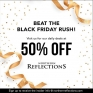 Beat the Black Friday Rush! Visit Northern Reflections for their 50% Off Daily Deals Teasers! #northernreflections #northern #blackfriday #teaser #shoppingevent