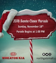Happening this Sunday, November 18th - 🎅 Santa Claus Parade at 1PM. 🧣🧤 Visit Northgatemall.ca for Parade route. #SantaClausParade #yqr #Regina #WheatonKIA