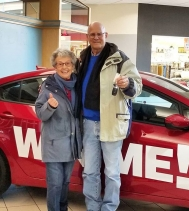 🎉Congratulations to Bruce & Sonja Boulton🎉 on Winning the KIA FORTE XL!! 🚘 #WheatonKIA #giveaway #northgatemallyqr