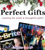 Perfect Gift, let the Calendar Club help you find some last minute gift Solutions! #christmasshopping #gifts