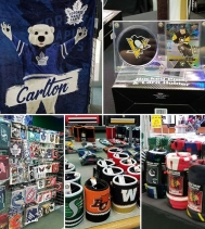 Sport fan in the family? 🏈🏒Check out Sportsworld Collectibles for the Perfect gift and Stocking Stuffers!  #christmasshopping #yqr #stockingstuffers #gifts #sports
