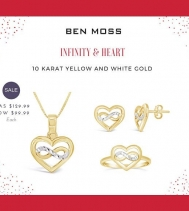 Believe in love, believe in infinite 💕 Shop Ben Moss Jewellers wide selections.