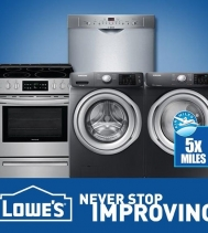 Something BIG is happening right now at Lowe's their BIG APPLIANCE EVENT is Back!! Plus! Free Delivery & Haul Away on all Major Appliances. See in store for details!