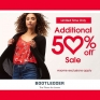 Limited Time Only! Save an Additional 50% OFF at Bootlegger!! Some exclusions apply, see in store for details.