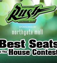 Enter at Customer Service to WIN  a VIP Experience to a Saskatchewan Rush Home Game!! Visit northgatemall.ca for Rules & Regulations. #BestSeatsInTheHouse  #lacrosse