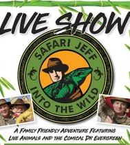 Join Safari Jeff next week for his INTO THE WILD TOUR!  April 17th to 20th Showtimes - 2 Shows per Day WED & THURS 🔹️ 1PM & 6:30PM FRI & SAT 🔹️ 1PM & 3PM 🐍🌿🦎🐢🌱 Come by and bring the whole family, there is something for everyone! @