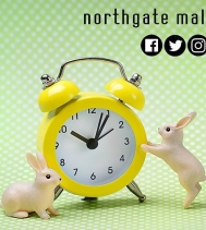 Easter Weekend Mall Hours Good Friday | 12PM - 5PM Saturday | 9:30AM - 6PM Easter Sunday | CLOSED  Monday | 9:30AM - 6PM #easterweekend #yqr #northgatemallyqr #shopping