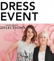 Visit Northern Reflections Thursday, May 9th at 1PM for their Dress Event Fashion Presentation! 👗 In store style experts will help you find your dress to impress. 👗 #dressevent #northernreflections