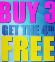 This Weekend Only, Buy 3 Get the 4th FREE! 🎉 Shop Coles Bookstore from Jun.6 thru Jun.9 on almost everything in store!