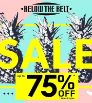 Get Summer Ready! 🍍 @belowthebeltstores  Ends Jul.20