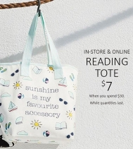 Totes are cute! Get yours for $7 when you Spend $30 at Coles!
