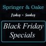 Black Friday Specials at @springernoake 🖤  Ends Dec.1
