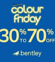 @Bentley until Dec.2!  Monday November 25th - 30% off Business & Travel Bags* Tuesday November 26th - 30% off Backpacks & Leisure bags* Wednesday November 27th - 30% off Handbags* Thursday November 28th - 30% off Luggage* *Selected Merchandise. Other rest