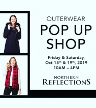 THIS Friday & Saturday Shop @northernreflections OUTERWEAR POP UP  10am - 4pm 🙌🏽🛍