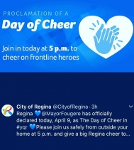 It's Official!  #dayofcheer 🙌🏽💙 #weareinthistogether