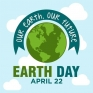 Our Earth...Our Future! #happyearthday🌎