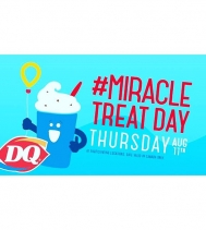 Today is #miracletreatday at DQ locations! #miracletreatyourselfie with a Blizzard! #yummy #yqr