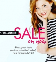Semi-Annual Sale! On until July 24th