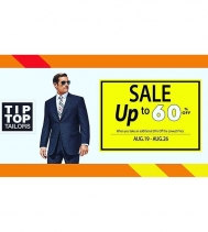 Spring and Summer Clearance Sale at Tip Top Tailors! #Sale on Aug.19 - Aug.26. See store for all details.