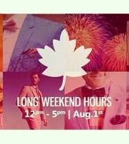 @northgateyqr is Open from Noon - 5pm on Monday, Aug 1st! #augustlong #summer #holidays