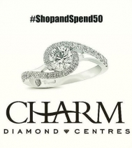 Northgate Mall is Rockin' It! #ShopandSpend50 for your chance to WIN this stunning 💍 from @charmdiamonds at @northgateyqr! #charmed by Richard Calder. #yqr #jewlery #win #sparkle