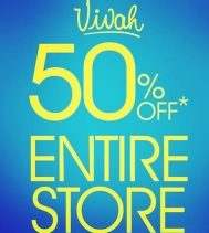 Entire Store 50% Off! Visit Vivah for all detail - Restrictions Apply*