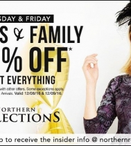 Friends & Family Event at @northernreflections! Enjoy 50% Off almost everything - ask for details!