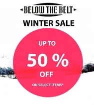 Below The Belt's Winter Sale: Up to 50% select items throughout the store on your favourite brands – TenTree, Lira Joggers, Herschel, Silver Jeans and more!